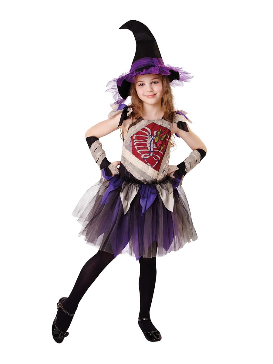 Child Zombie Witch Costume