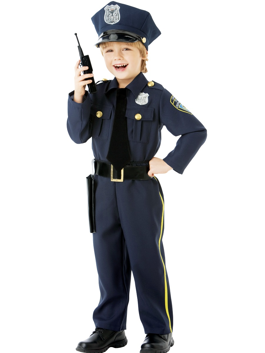 Child Police Officer Costume - 999664 - Fancy Dress Ball