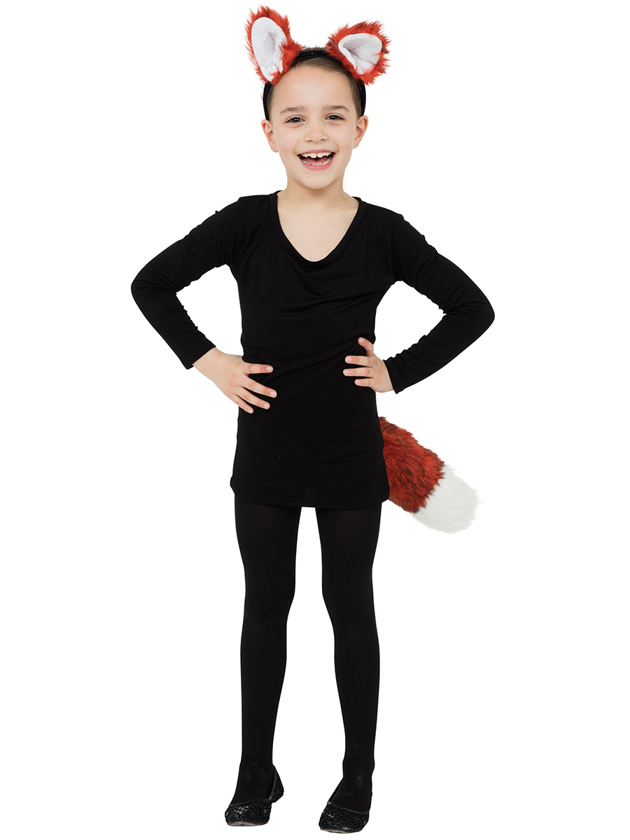 Fox Halloween Costume For Girls