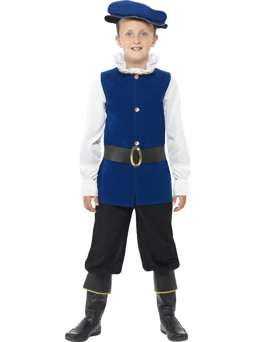 Child Tudor Boy Costume - 41092 - Fancy Dress Ball