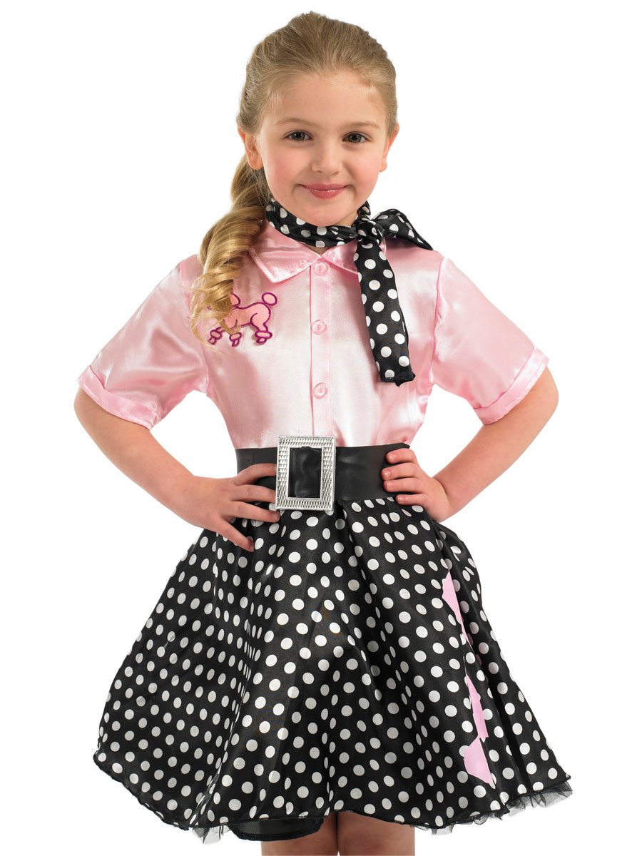 b42d81b09cea Child 50s Rock n Roll Costume - FS2965 - Fancy Dress Ball