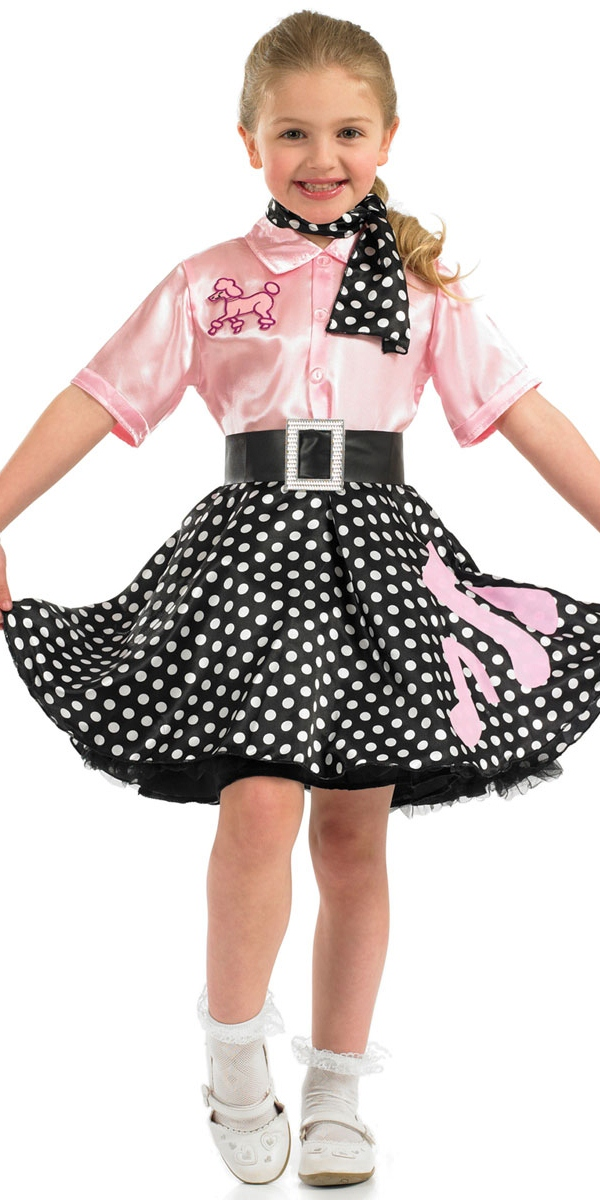 child 50s rock n roll costume fs2965 fancy dress ball. Black Bedroom Furniture Sets. Home Design Ideas