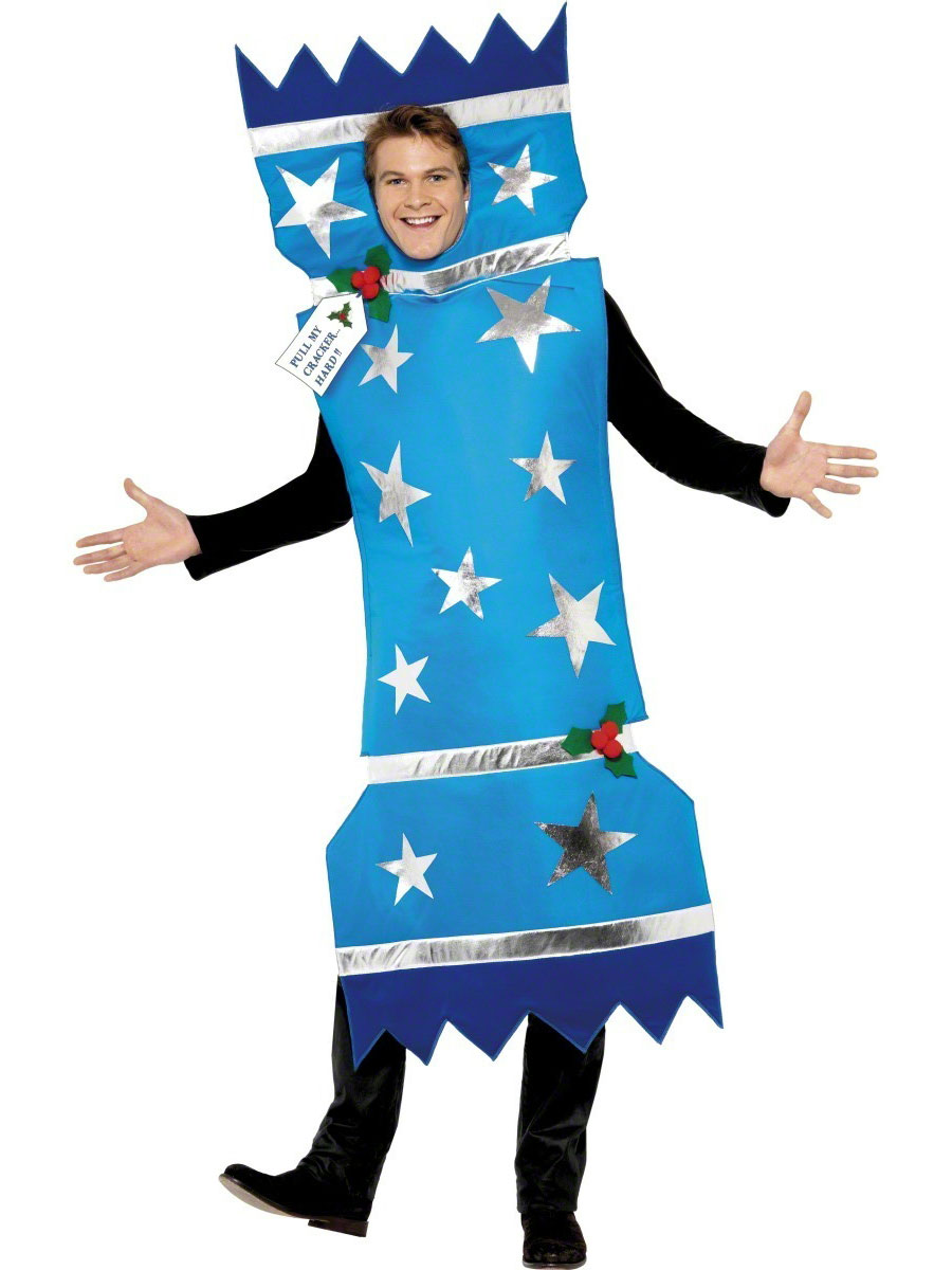 Adult christmas cracker costume  fancy dress ball