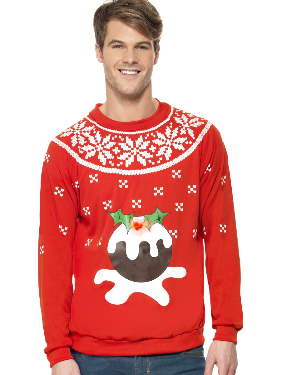 Christmas Pudding Outfit.Adult Christmas Pudding Jumper