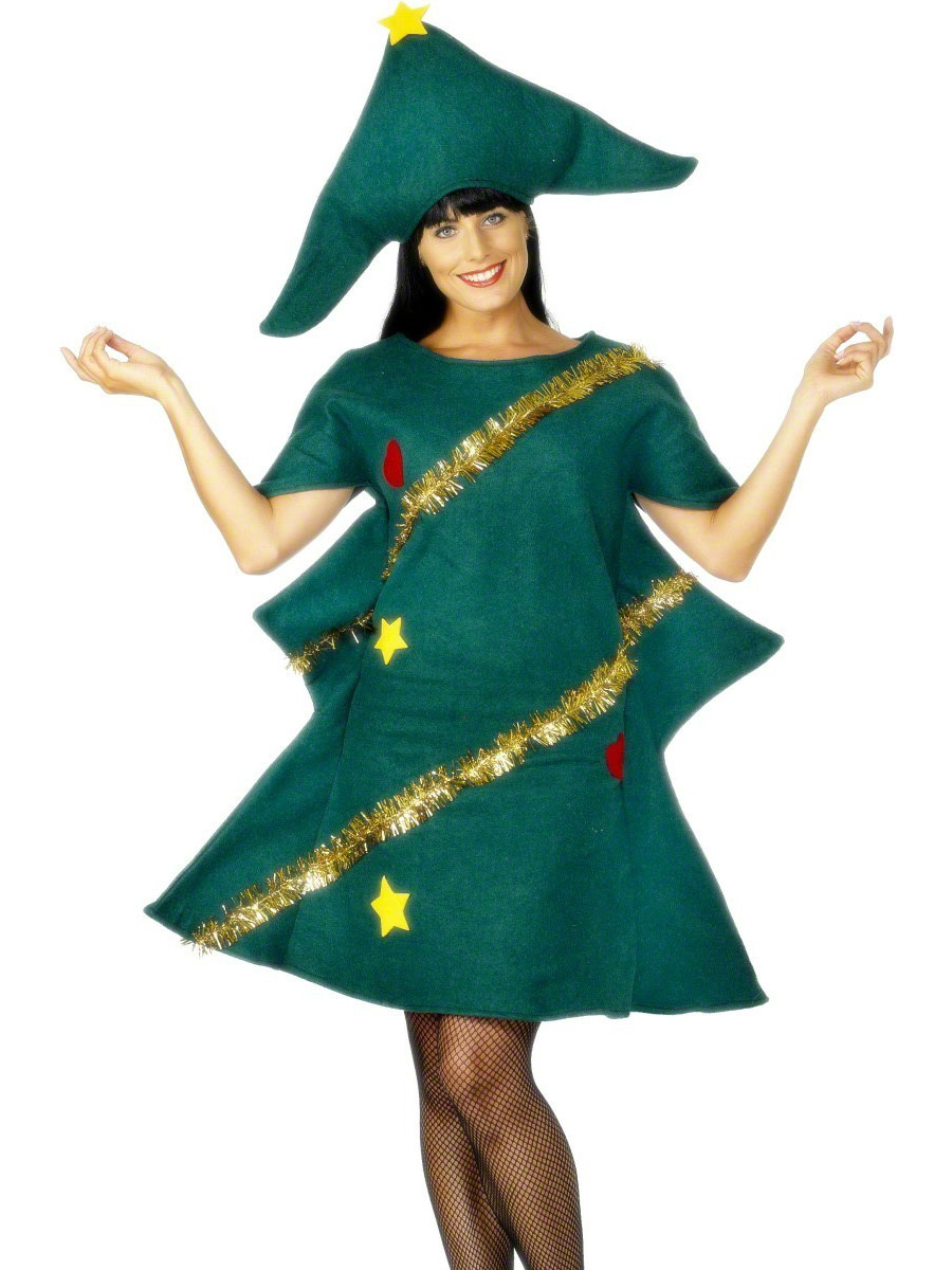 Christmas gown ideas 70s halloween - Adult Christmas Tree Costume