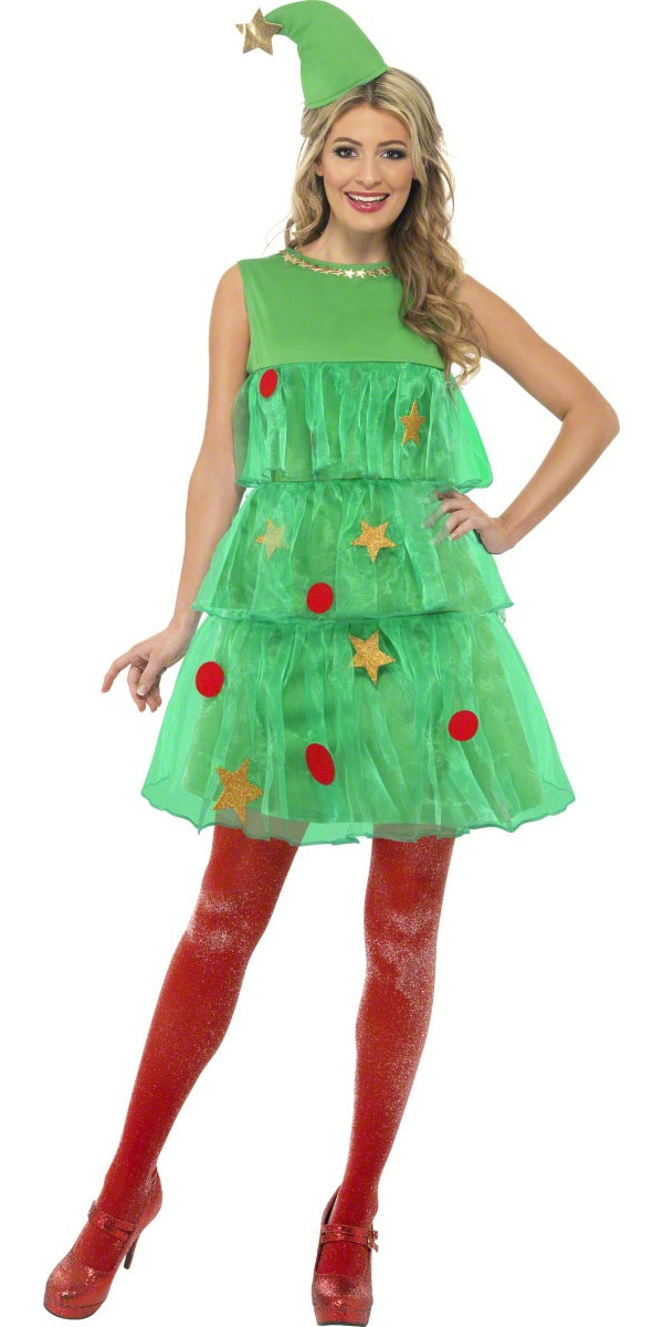 2cf66a851cf Adult Tutu Christmas Tree Costume - 24331 - Fancy Dress Ball
