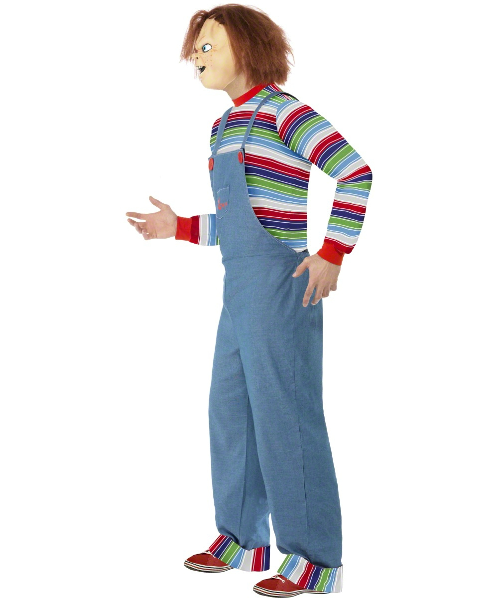 Chucky Halloween Costume For Adults Adult Chucky Costume View