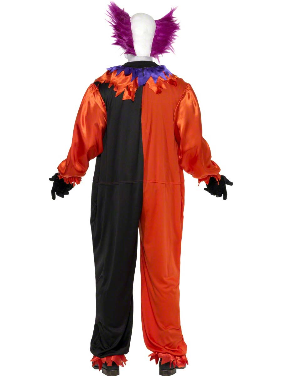 Adult Cirque Sinister Bo Bo The Clown Costume 33474