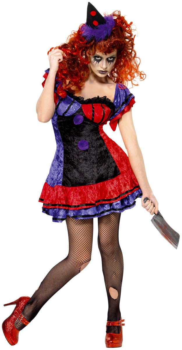 adult cirque sinister bo bo the clown costume 32246 fancy dress ball. Black Bedroom Furniture Sets. Home Design Ideas