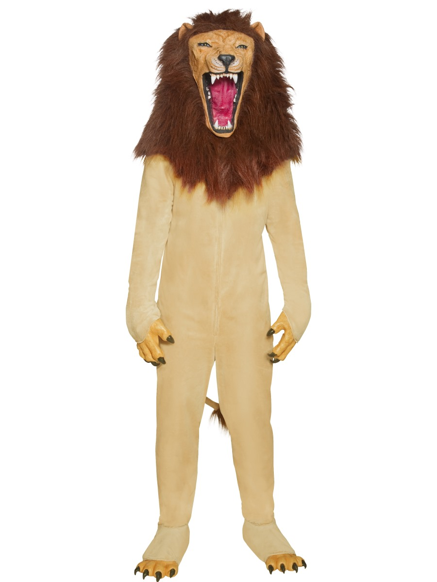 Adult Cirque Sinister Vicious Circus Lion Costume - 34286 ...