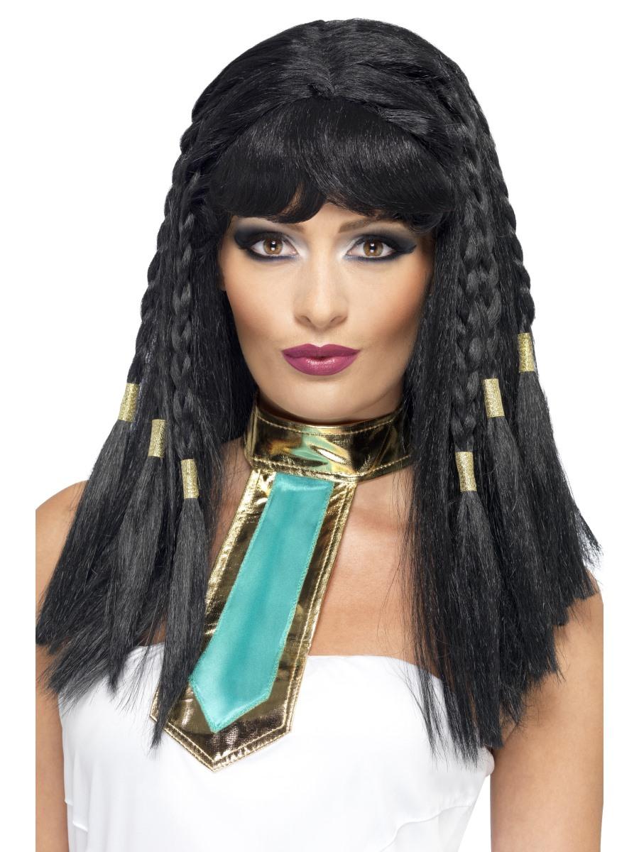 Cleopatra Wig Black Gold 42081 Fancy Dress Ball