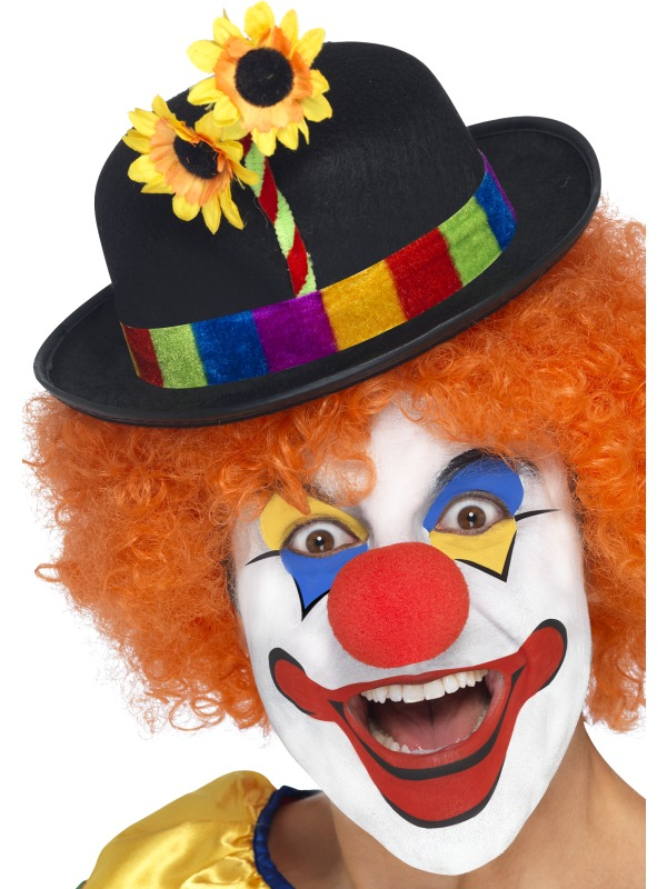 Clown Bowler Hat - 24088 - Fancy Dress Ball