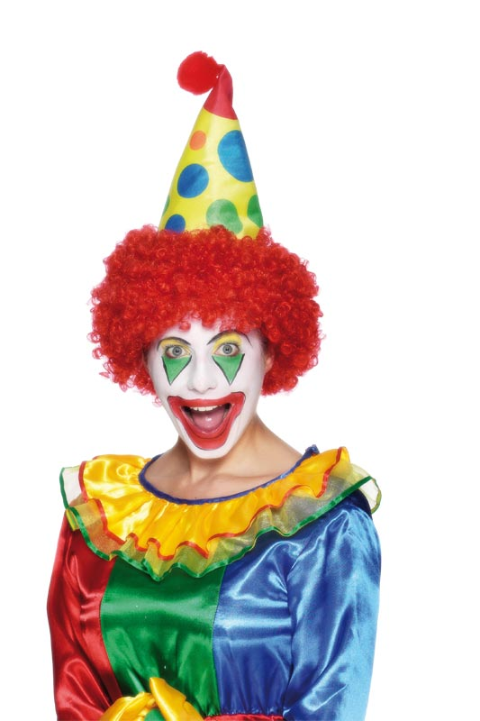 clown hat foam fabric 26295 fancy dress ball. Black Bedroom Furniture Sets. Home Design Ideas