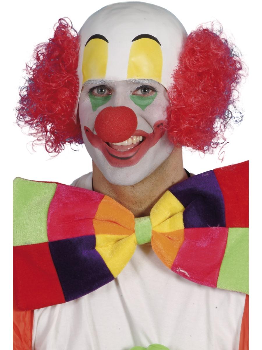 Clown Head Rubber 24701 Fancy Dress Ball