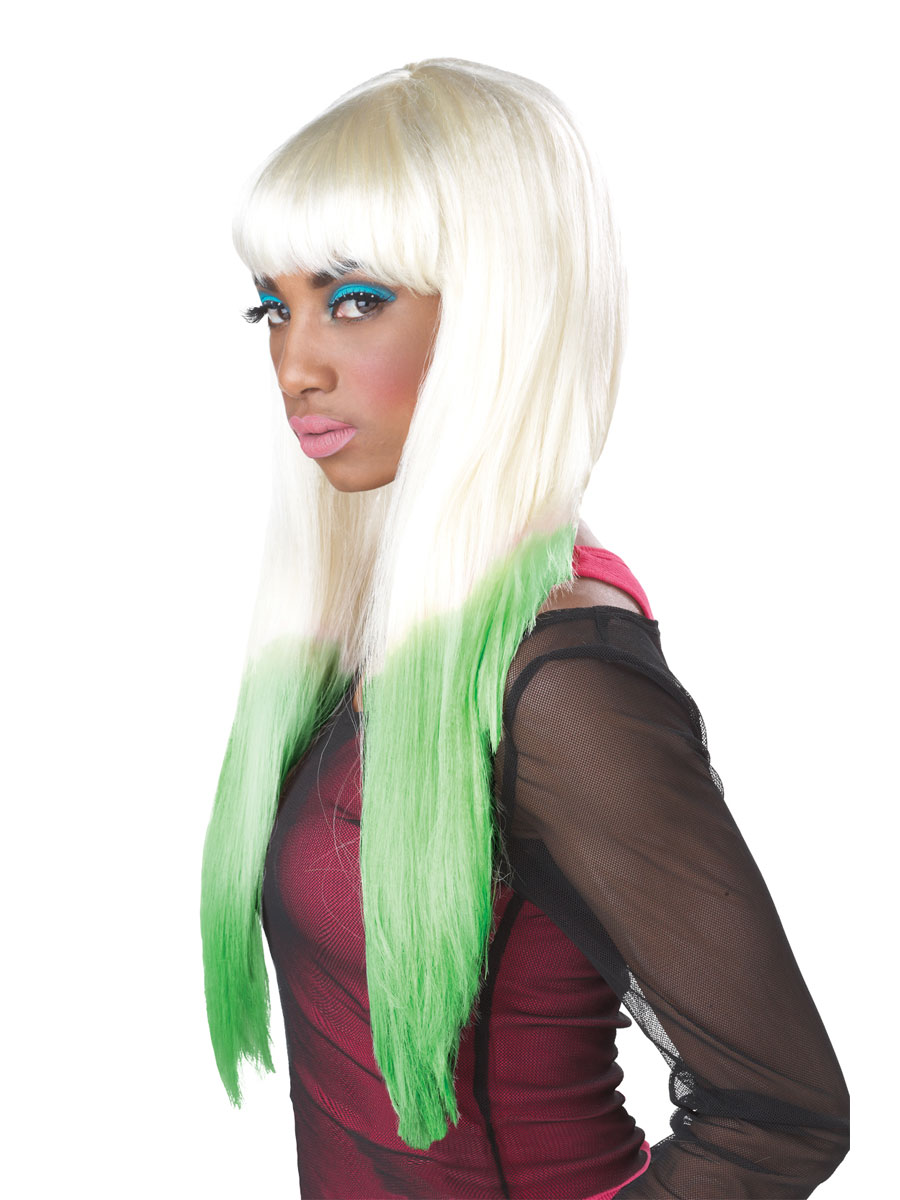Nicki Minaj Colour Dipped Wig 70067 Fancy Dress Ball