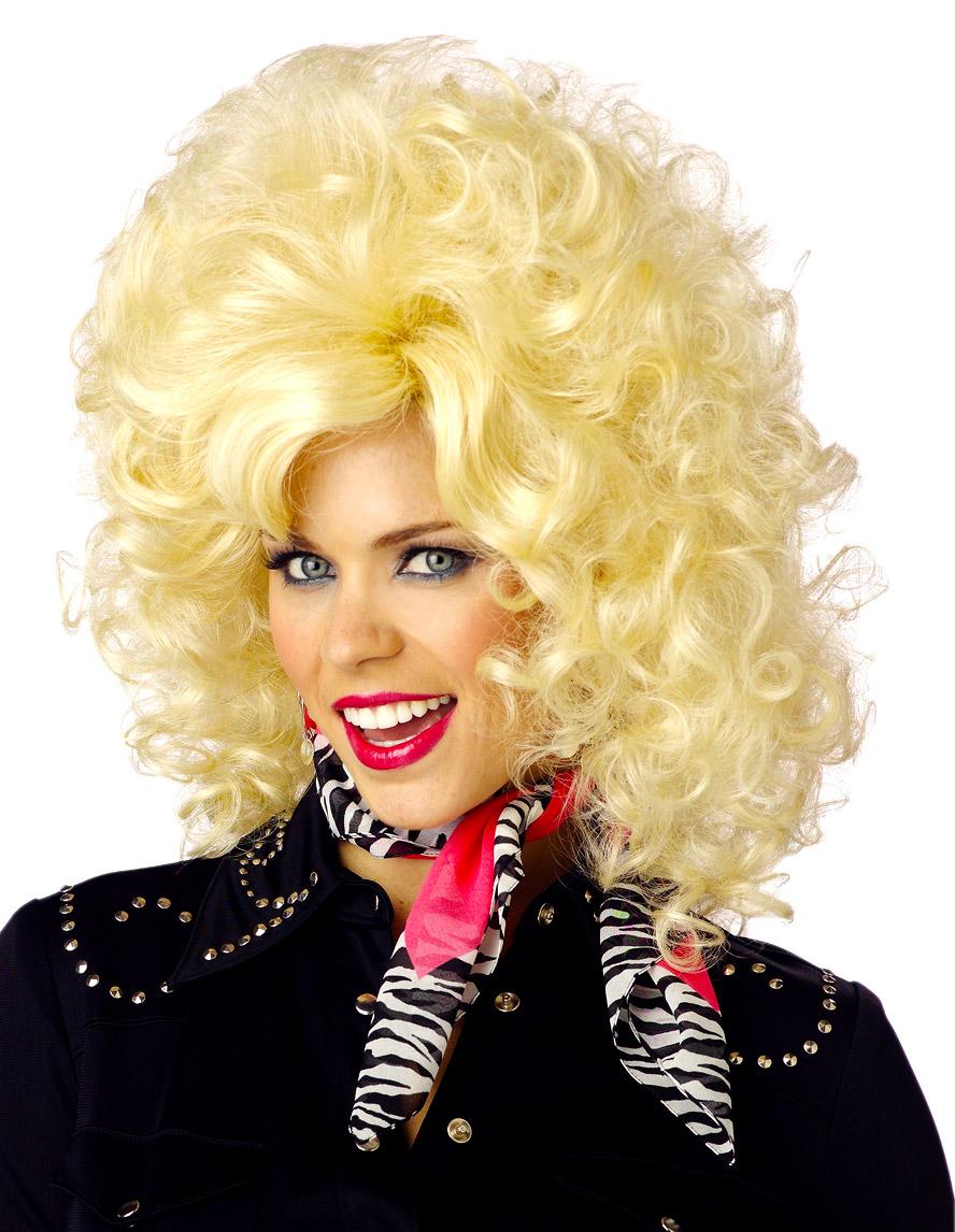 Dolly Parton Wig Costume 32