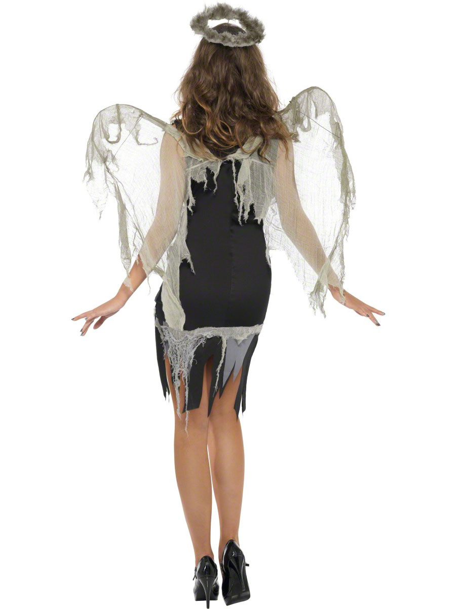 adult dark fallen angel costume 38887 fancy dress ball. Black Bedroom Furniture Sets. Home Design Ideas