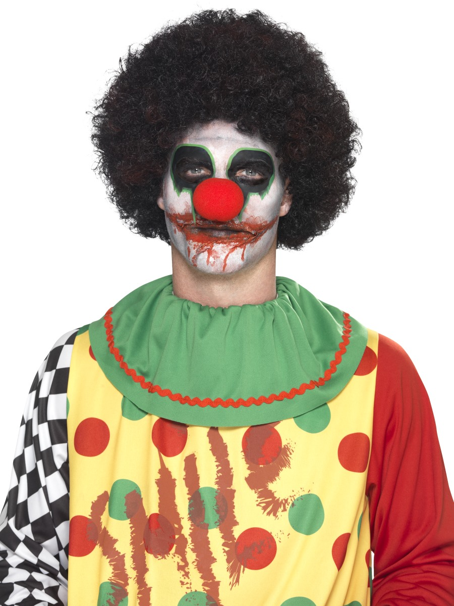 Deadly Clown Make Up Kit 44739 Fancy Dress Ball