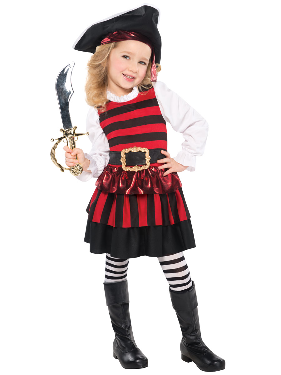 Child Little Lass Pirate Costume  sc 1 st  Fancy Dress Ball & Child Little Lass Pirate Costume - 997042 - Fancy Dress Ball