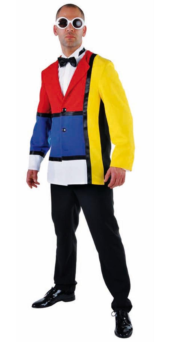 Adult deluxe 60s modern art jacket 214253 fancy dress ball