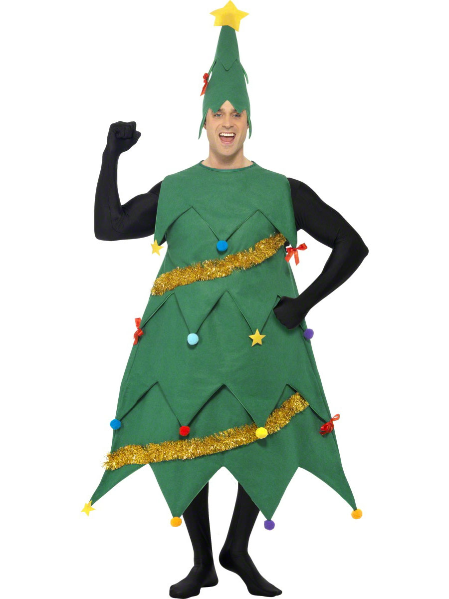 Christmas tree costume homemade