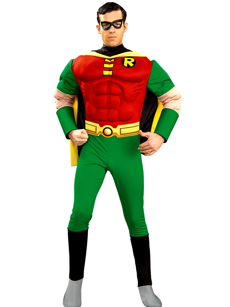 adult deluxe robin muscle chest costume - 888078