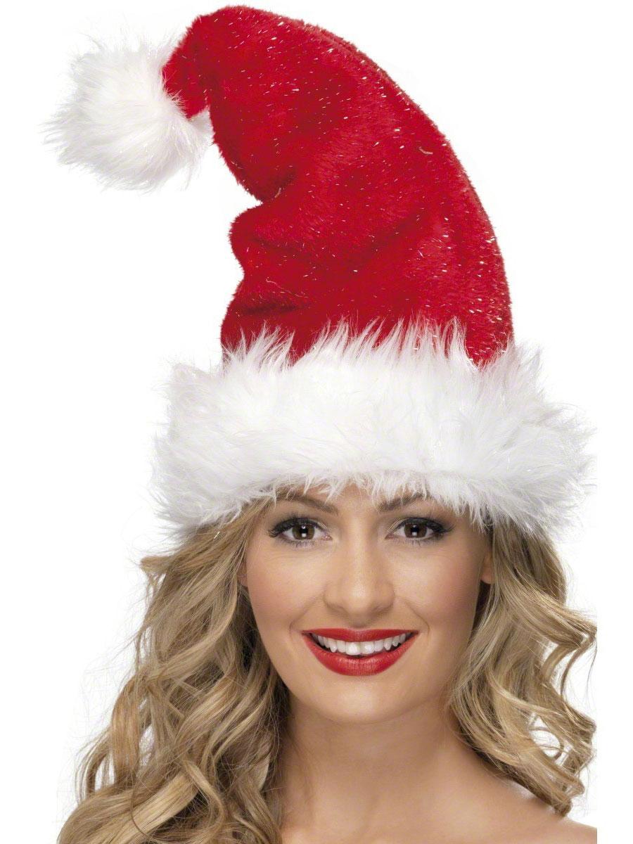 Deluxe Santa Hat · Deluxe Santa Hat - Christmas Novelty Hats 54edeee8963d