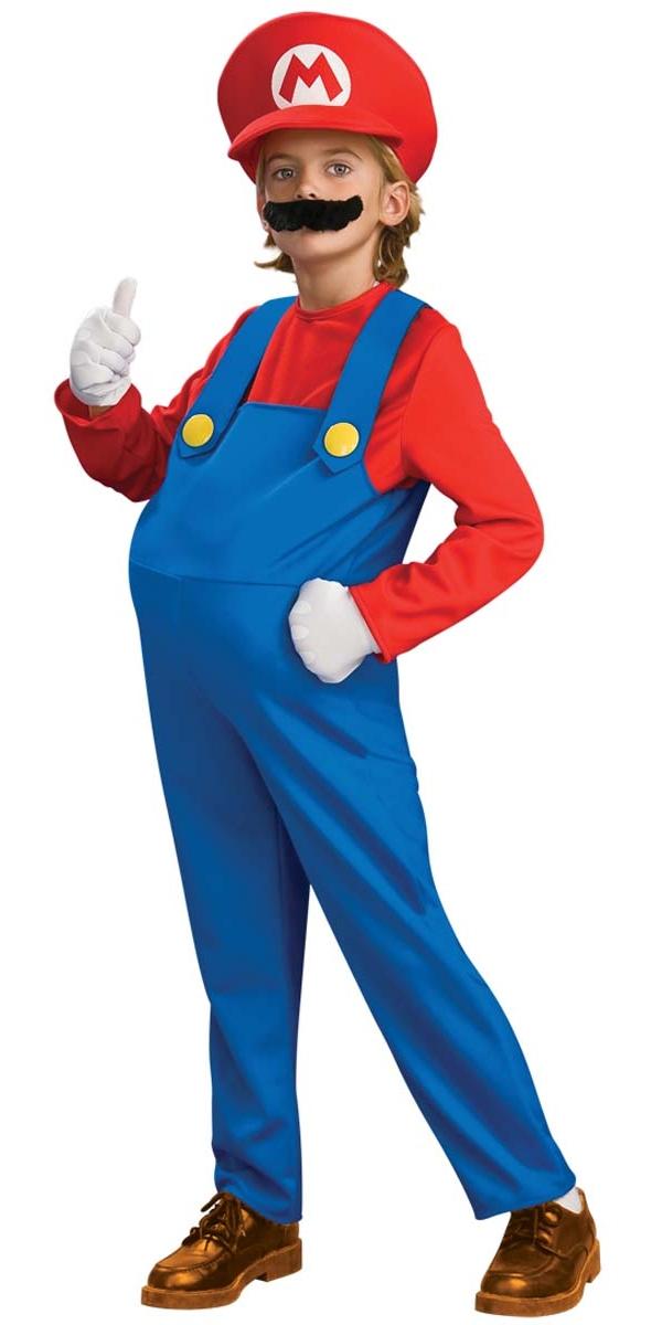 f93ac5c334f0 Child Deluxe Super Mario Costume - 883655 - Fancy Dress Ball