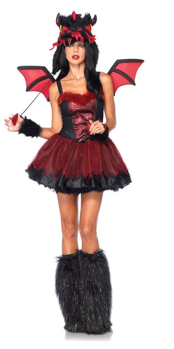 Adult Demon Dragon Costume 85138 Fancy Dress Ball
