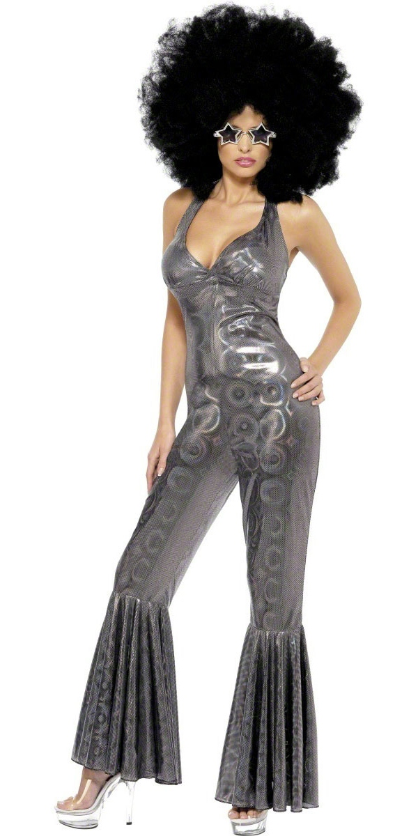 Adult disco diva costume 32888 fancy dress ball - Look disco femme ...