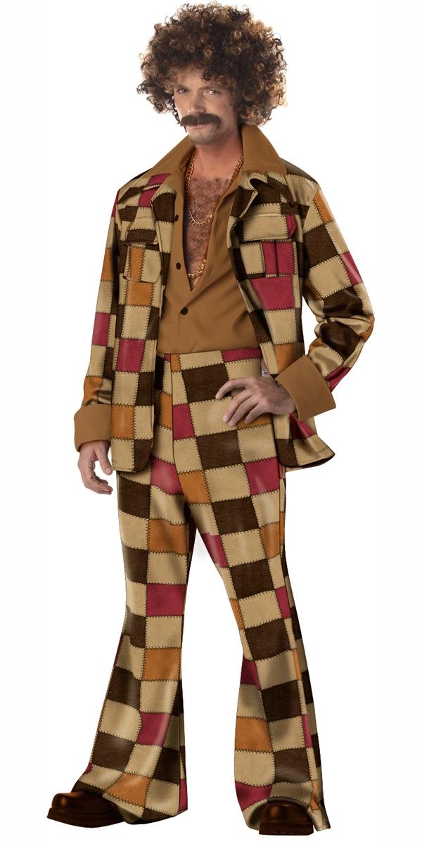 Adult Disco Sleazeball Costume 00919 Fancy Dress Ball