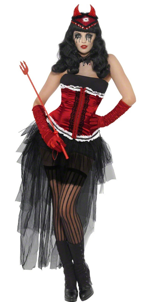adult diva demonique costume 38684 fancy dress ball. Black Bedroom Furniture Sets. Home Design Ideas