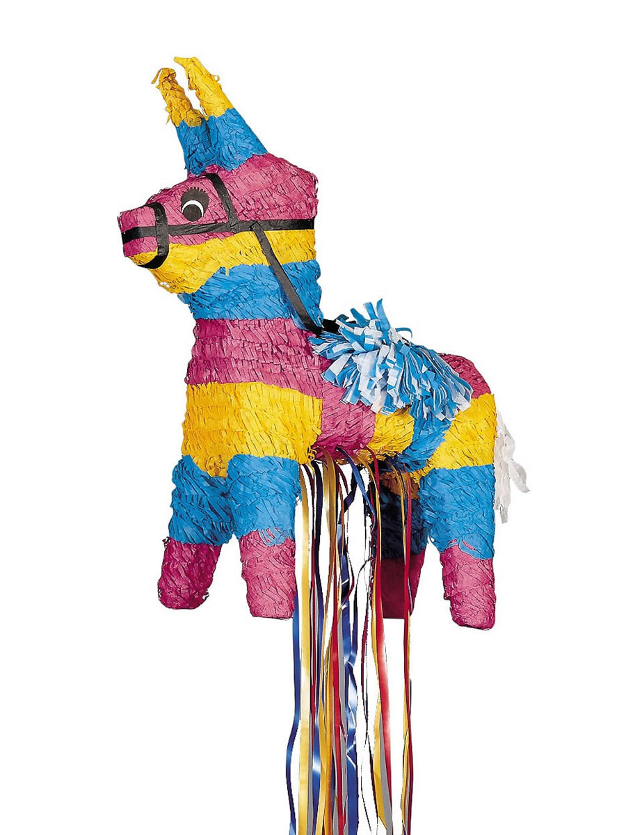 donkey pull pinata p33450 fancy dress ball. Black Bedroom Furniture Sets. Home Design Ideas