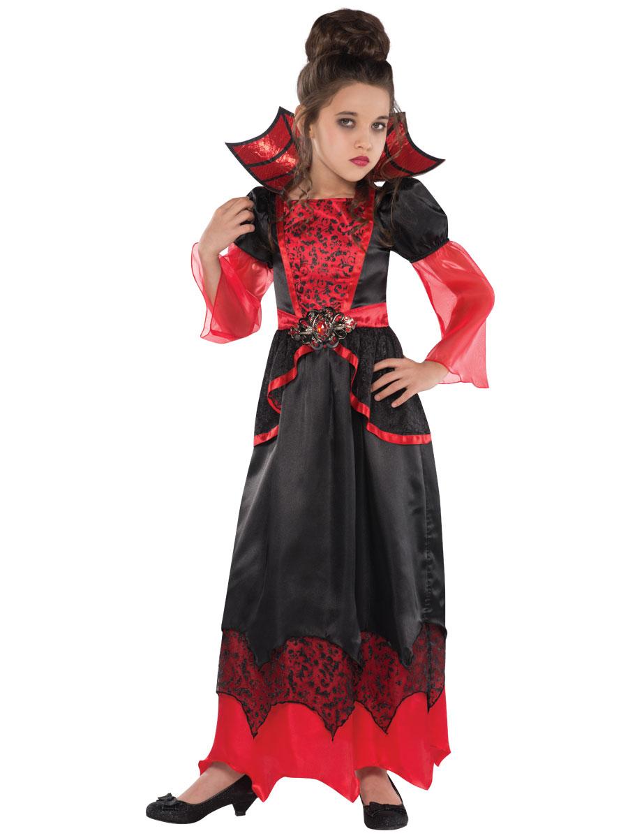 Costumes  gt  Girls Halloween Costumes  gt  Vampire Queen Childrens CostumeVampire Queen Costume For Kids