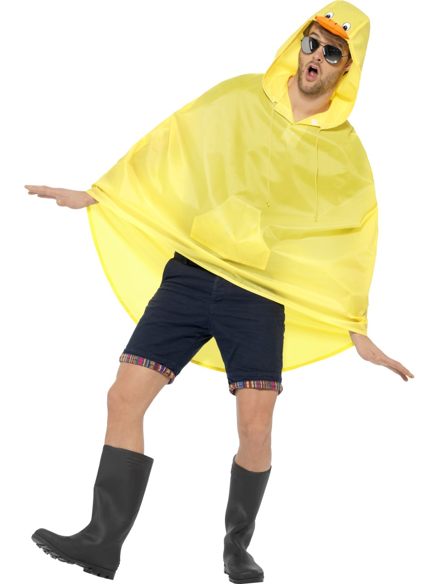 Duck Party Poncho Festival Costume 27613 Fancy Dress Ball