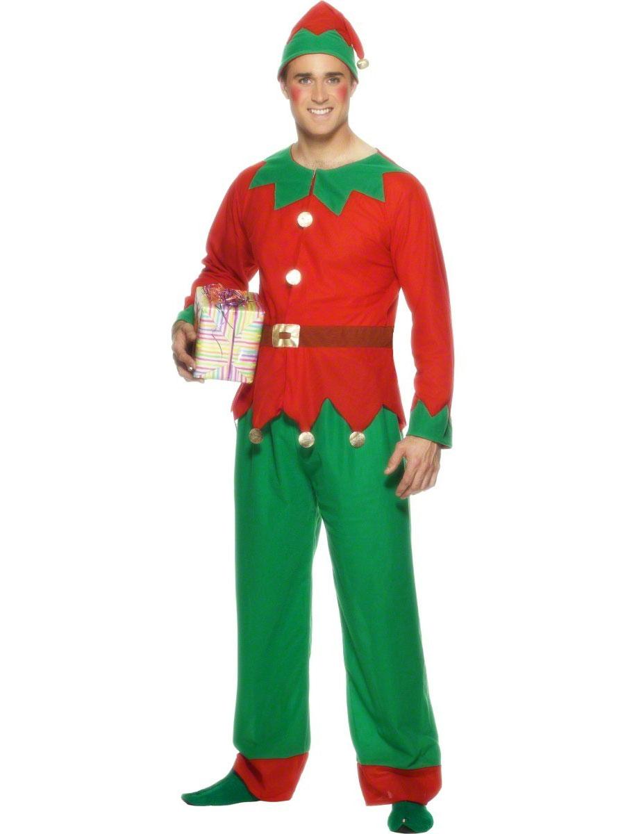 Adult Elf Fancy Dress 45