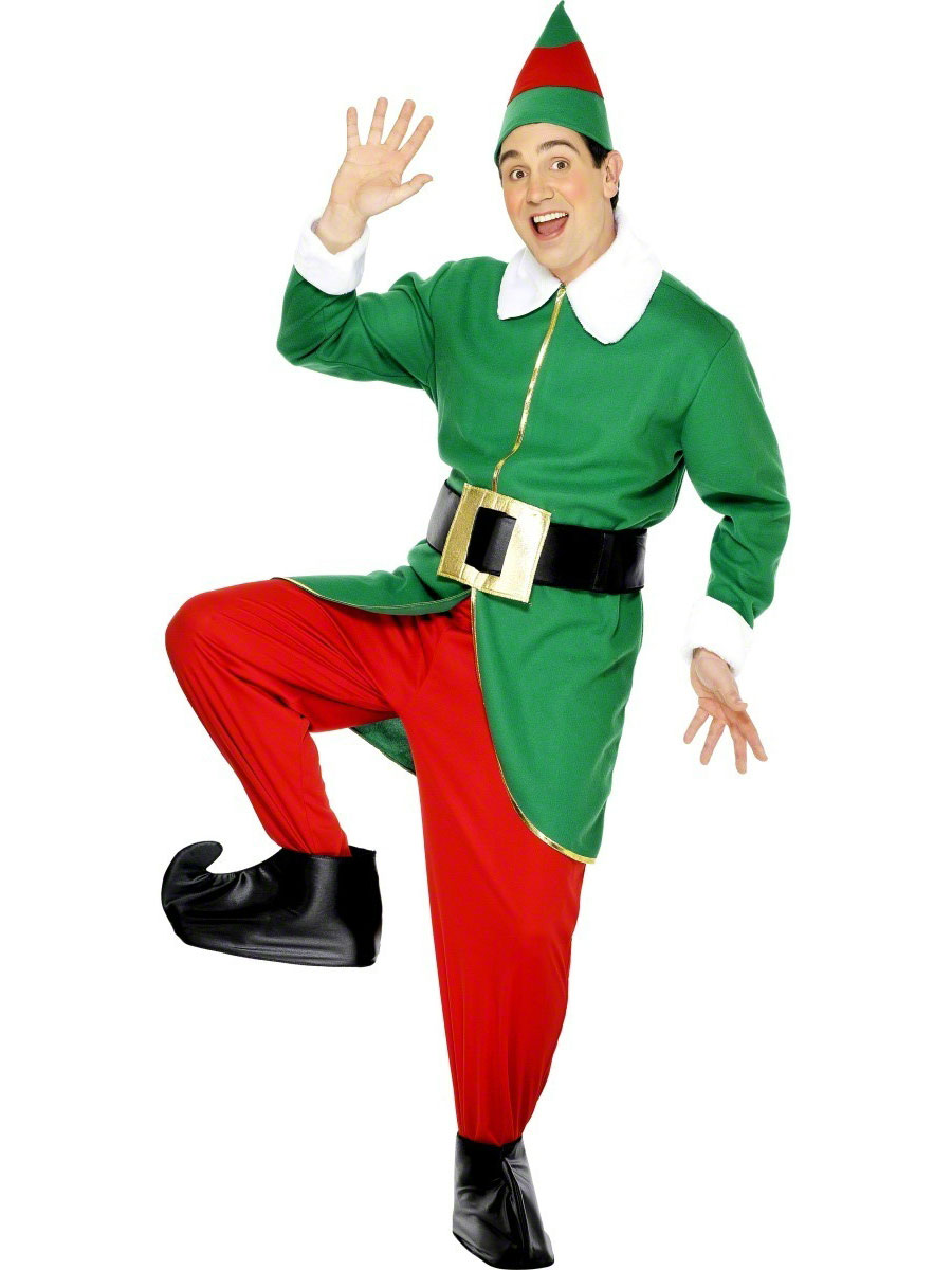 Home christmas fancy dress elf costumes elf costume