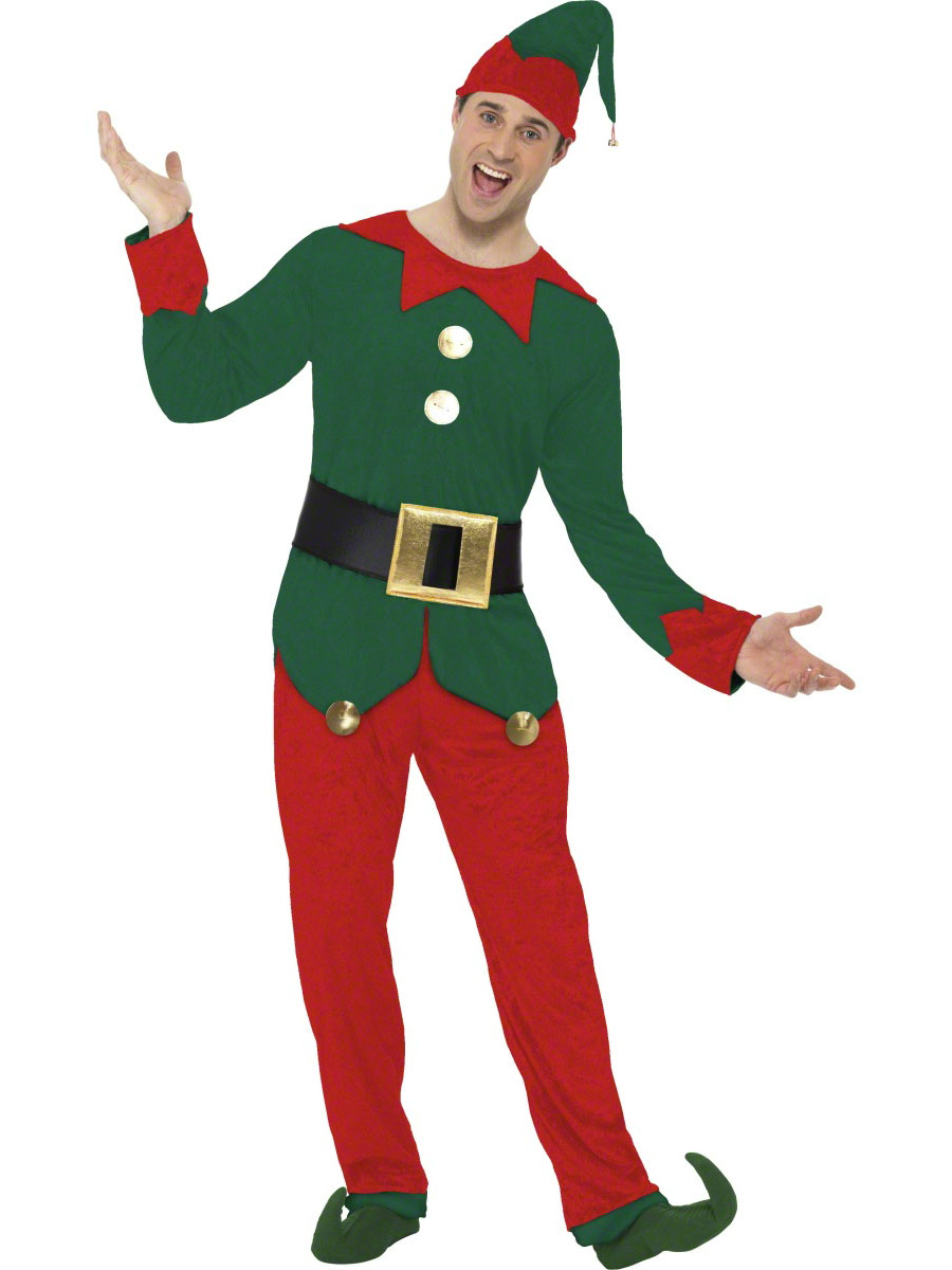 Adult elf costume 31993 fancy dress ball - Traje de duende para nino ...