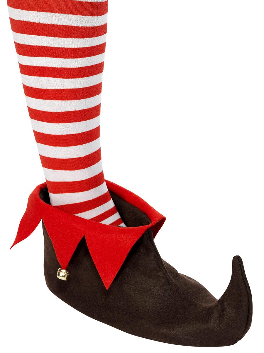 Krampus Demon Brown Hoof Shoe Covers