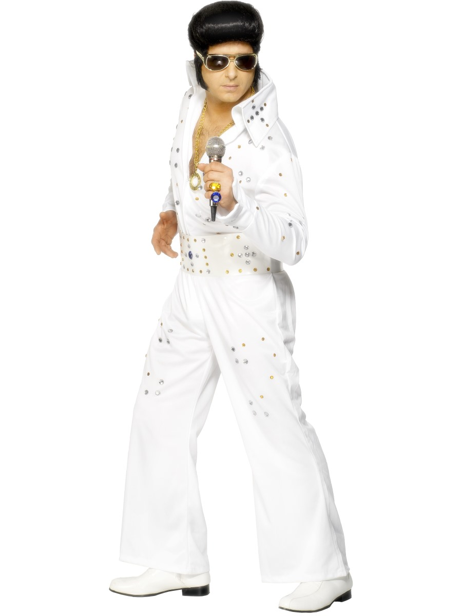 Adult Elvis Costume  sc 1 st  Fancy Dress Ball & Elvis Fancy Dress Costumes A Range Of Elvis Presley Fancy Dress ...