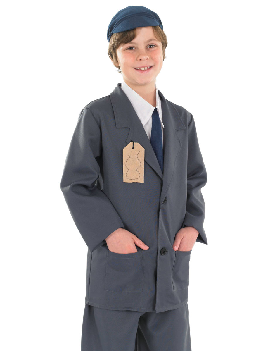 Child Evacuee Boy Costume - FS3453