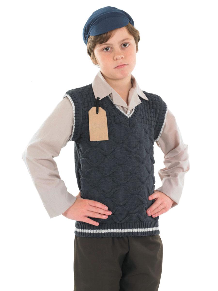 Child Evacuee School Boy Costume Fs3454 Fancy Dress Ball
