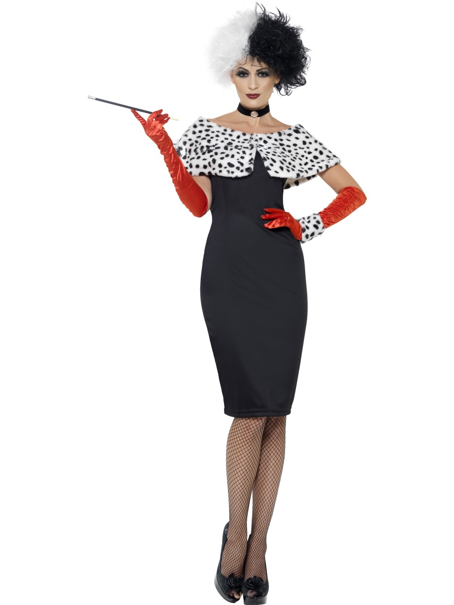 Fancy dress beginning with c fancy dress ball adult evil madame cruella costume solutioingenieria