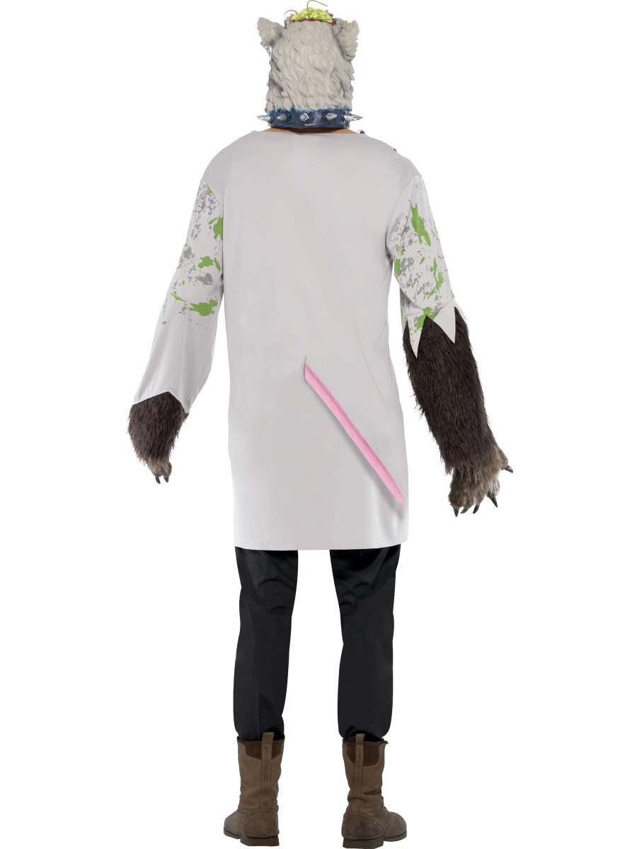 Adult Experiment Lab Rat Costume - Side View · VIEW FULL IMAGE - Adult Experiment Lab Rat Costume - 20455 - Fancy Dress Ball