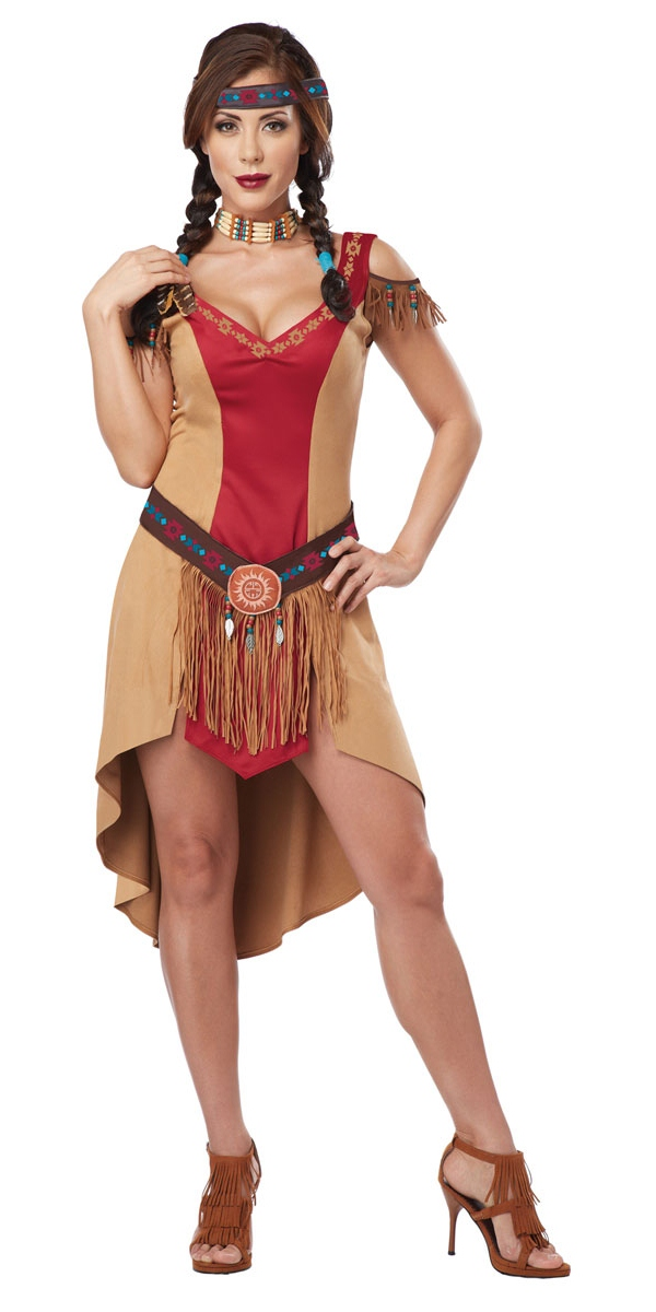 Adult Eye Candy Native Beauty Costume 01259 Fancy