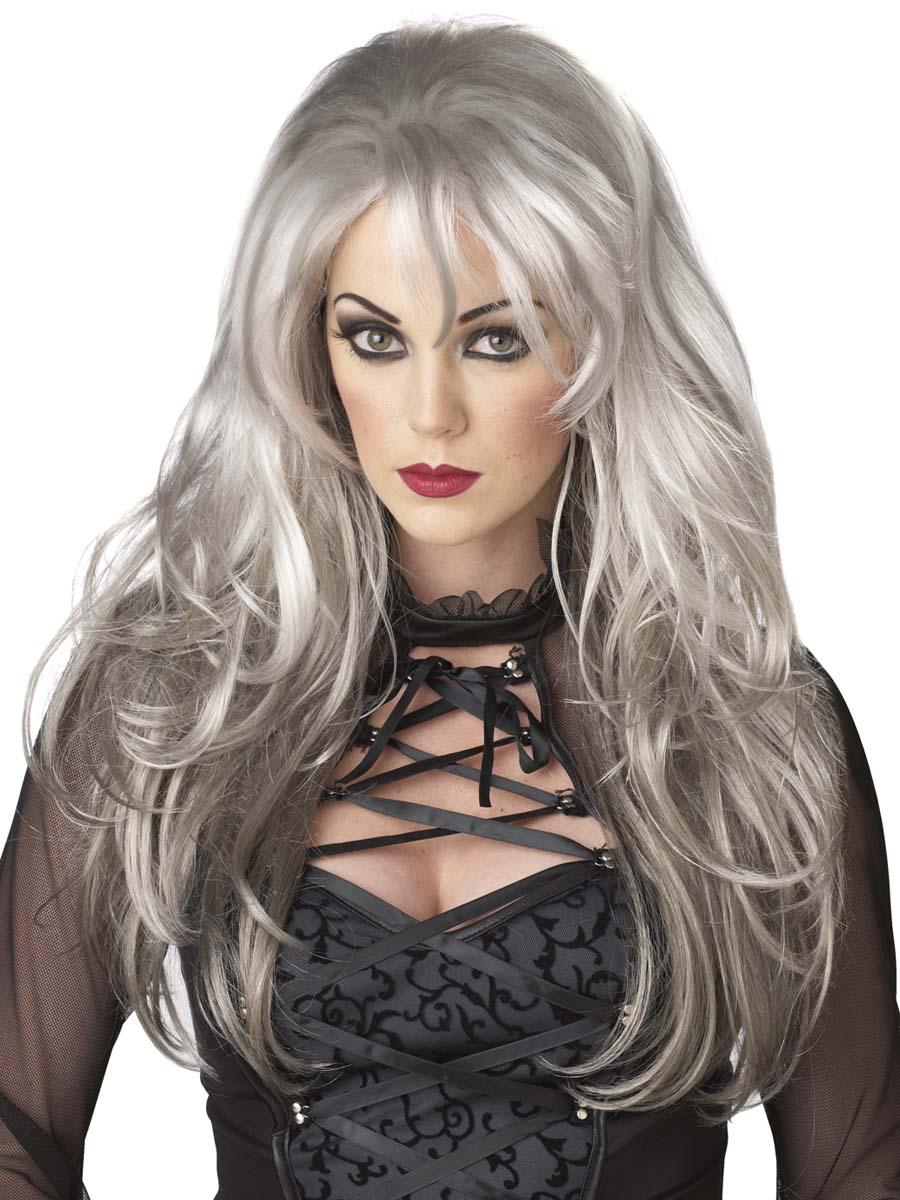 Adult Grey Fallen Angel Wig - 70642 - Fancy Dress Ball
