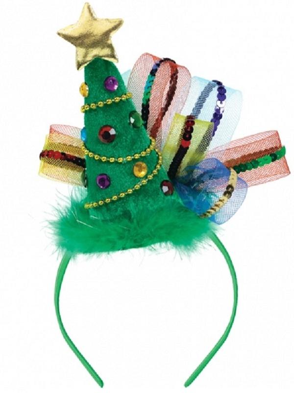 Fashion Christmas Tree Headband 398822 Fancy Dress Ball