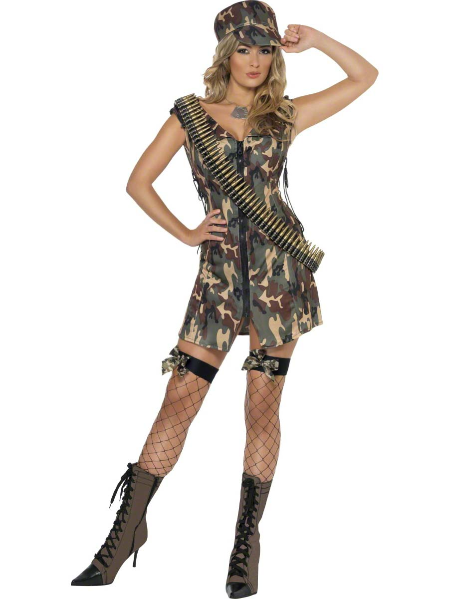 Fever Army Costume 33829 Fancy Dress Ball