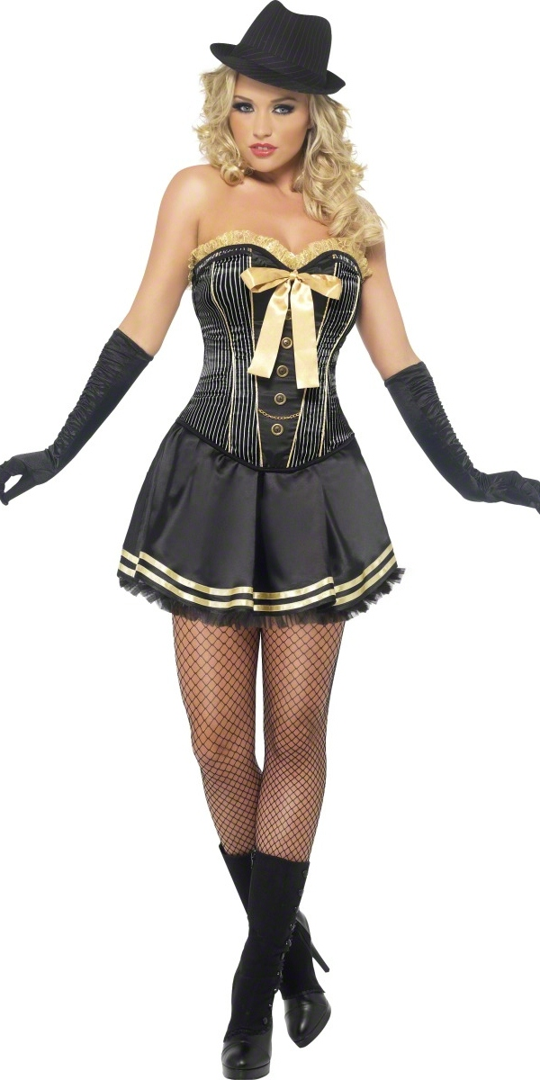 adult fever boutique gangster costume 42331 fancy dress ball. Black Bedroom Furniture Sets. Home Design Ideas