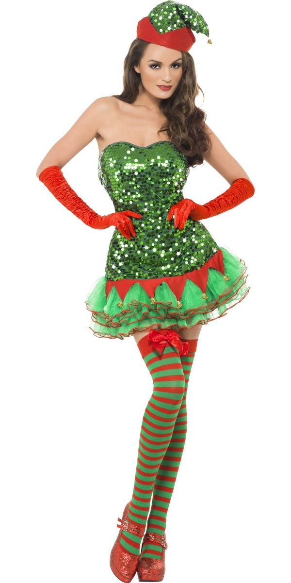 To recieve an automatic email once we have fever elf sequin costume